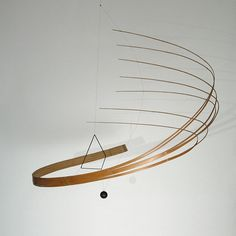 Defying Gravity – Bamboo Mobile Sculptures by Laurent Martin-Lo