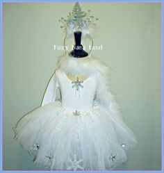 The Winter Princess - toddler size 2/4. $55.00, via Etsy.