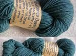 100 g Poll Dorset - Kate Davies says this knits up beautifully even - from Renaissance Dyeing in France