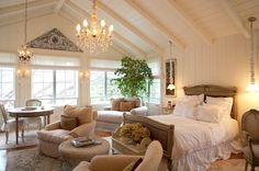 Master Bedroom. this is not good i dont think i would ever leave if i had this lol