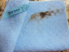 Gunk the Norwex Cleaning Paste removed from a glass-top stove. christiesteinbock.norwex.biz