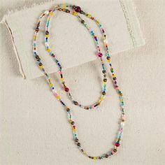 Gypsy bead necklace