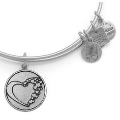 Alex and Ani Whole Heart American Heart Association Bangle Rafaelian Silver $28