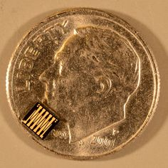 This tiny device contains 400 ohmic MEMS switches, which regulate the flow of electricity and can handle more than 1kW. That's enough to power a microwave for over an hour.