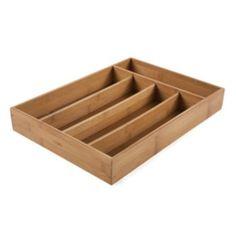 Core Bamboo Flatware Tray