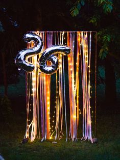 26 birthday party decor #birthdaypartydecor #birthdayparty #26birthdayparty #gardenpartydecor #gardenparty #fairylights #birthdaypartydecorations 26 Birthday, Birthday Parties, Birthday Party Decorations, Fairy Lights, Wind Chimes, Neon Signs, Outdoor Decor, Home Decor, Birthday Celebrations