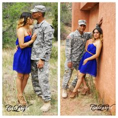 Couples pictures, military, army By CLV Photography http://on.fb.me/19v1af5