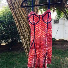 ✨ Nordstrom summer dress! ✨ Only worn once and has adjustable straps!!! Thick dress Fire Los Angeles Dresses Midi