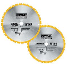 50 best circular saw blade images on pinterest circular saw blades dewalt 12 in circular saw blade assortment 2 pack greentooth Images