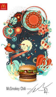 McDonald's: Nam's, Hevikana, McSmokey Chili