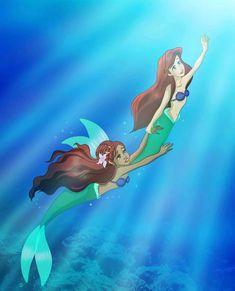 Great photo published by dailymermaidd Vanessa Little Mermaid, New Little Mermaid, Little Mermaid Movies, 90s Disney Cartoons, Disney Pixar, Disney And Dreamworks, Mermaid Disney, Mermaid Art, Mermaid Cartoon
