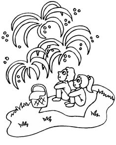 4th-of-July Coloring Page - Print 4th-of-July pictures to color at AllKidsNetwork.com