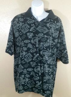 Shady LTD Polo Shirt Large Black Eminem Rap Hip Hop Rare Slim Shady NWT Marshal