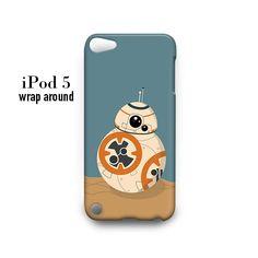 BB8 Starwars iPod Touch 5 Case Wrap Around