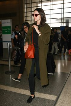 Caitriona Balfe Is Seen at LAX