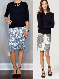 outfit post: navy cardigan, blue floral pencil skirt, black pointed toe pumps http://outfitposts.com/2016/05/outfit-post-navy-cardigan-blue-floral-pencil-skirt-black-pointed-toe-pumps.html?utm_campaign=coschedule&utm_source=pinterest&utm_medium=Outfit%20Posts&utm_content=outfit%20post%3A%20navy%20cardigan%2C%20blue%20floral%20pencil%20skirt%2C%20black%20pointed%20toe%20pumps