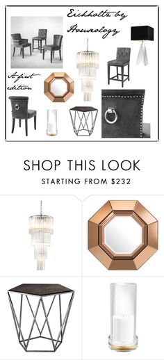 """""""Eichholtz by Houseology: A First Edition"""" by thehouseologists ❤ liked on Polyvore featuring interior, interiors, interior design, home, home decor, interior decorating and Eichholtz"""