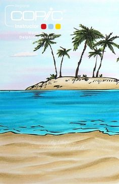 Copic Marker Europe: Tutorial - Colouring Smooth Sand