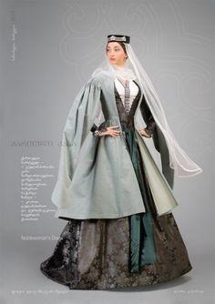 Блог Марии Эксер - По заявкам: грузинский национальный костюм  Georgian traditional clothing