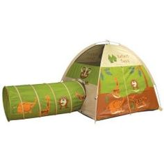 Pacific Play Tents Safari Tent and Tunnel Com. for Like the Pacific Play Tents Safari Tent and Tunnel Com. Toddler Tent, Play Tunnel, Tent Reviews, Stuffed Animal Storage, Stuffed Animals, Kids Tents, Dome Tent, Tent Poles, Spring Steel