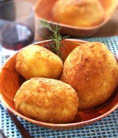 Arancini  Bolas de arroz  rellenas  especialidad Sicilana