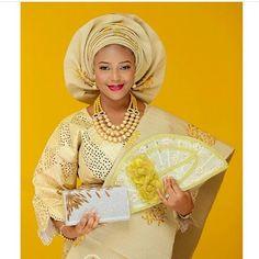 The beautiful Tunmilara  Photo by @laphyphotography  #bride #bridalinspiration #nigerianwedding #idonigeria #yorubabride
