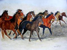 PEM - La manada   Patricio E. Marenco - Arte Criollo