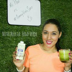 NutriReceta: Jugo Verde con lo que te queda en el refrigerador!!!
