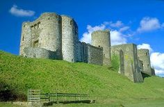Kidwelly Castle Norman Castle, Castles In Wales, Celtic Nations, Medieval Fortress, Celtic Culture, Castle House, Interesting Buildings, Best Sites, Cool Places To Visit