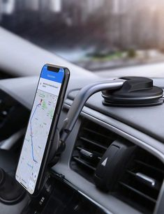 Universal Magnetic Cell Phone Car Holder GPS Compatible with iPhone 11 Pro XS Max X 8 6s Plus Samsung S10 S9 Note 9 HTC Huawei Oneplus Etc INIU Phone Holder for Car 360/° Dashboard Car Phone Mount