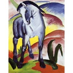 Franz Marc Blue Horse painting is shipped worldwide,including stretched canvas and framed art.This Franz Marc Blue Horse painting is available at custom size. Franz Marc, Painted Horses, Blue Rider, Oil Canvas, Painting Prints, Art Prints, Painting Art, Kunst Poster, Blue Horse