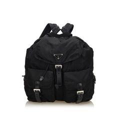d81c734f7b5e Prada classic nylon backpack  prada  pradabackpack Prada Backpack