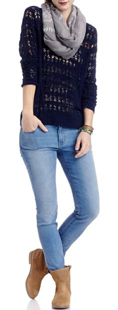 Casual Comfy Look - love the color combination!!
