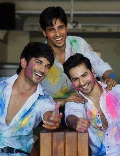 Varun Dhawan, Sushant Singh Rajput, Sidharth Malhotra