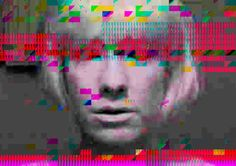 Distortion - glitch art - Kerry Nourrice Photography.