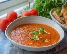 Hjemmelaget Tomatsuppe - Full av næring og utrolig god!   Gladkokken Frisk, Food To Make, Ethnic Recipes, God, Dios, The Lord