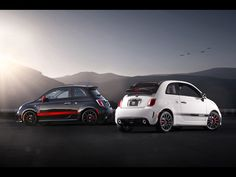 2013 Fiat 500 Abarth and 500c Abarth, which color, hey how about both?