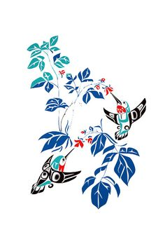 Native art tattoo idea