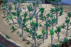 Trees #LEGO #Brickvention #Melbourne