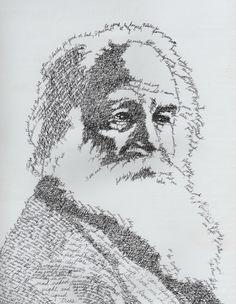 "Walt Whitman as ""Leaves of Grass"""