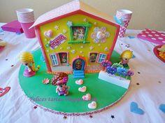 Cute Pinypon House Cake
