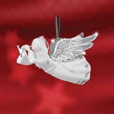 Newbridge Silverware - Silver / cerâmica Papai Noel - pendurando decoração # 27 - SP9008