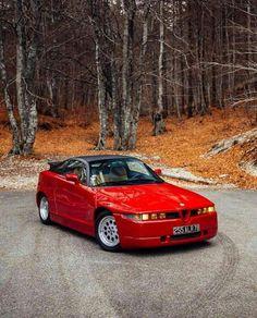 Alfa Romeo SZ - Comme un camion Alfa Romeo 156, Alfa Romeo Giulia, Alfa Alfa, Best Muscle Cars, Car Colors, Sports Sedan, Motorcycle Garage, Cute Cars, Funny Cars