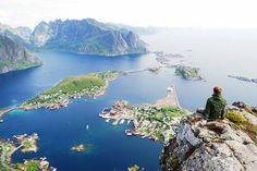 Reinebringen Mountain, Norway