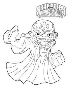 Skylanders Trap Team coloring pages - Food Fight ...