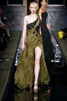 Awesome split leg dress with large black pointed studs. Love that addition. Very bad ass.
