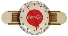 1948 coca cola Kay Displays telechron clock