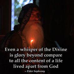 Elder Sophrony.  A whisper of the Diving...