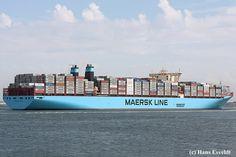 Maersk Line, Aviation Technology, Merchant Marine, Cargo Container, Sailing, Ships, Space, Ship, Denmark