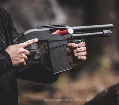 Tactical Shotgun, Tactical Gear, Weapons Guns, Guns And Ammo, Rifles, Arsenal, Combat Shotgun, Hand Cannon, Custom Guns